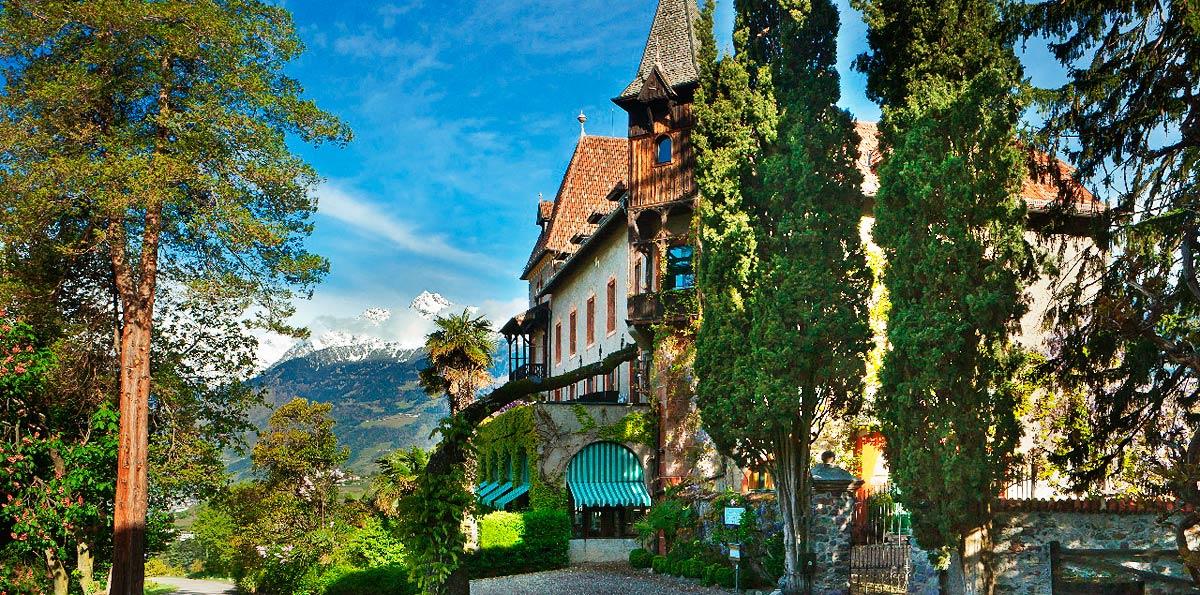 4 Sterne Hotel Meran Hotel Schloss Labers Meran Sudtirol